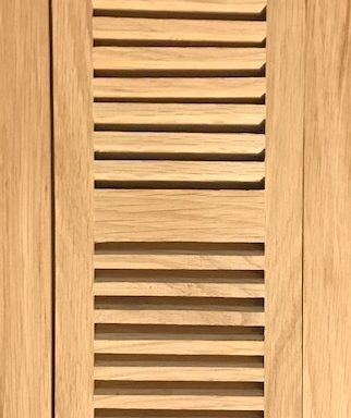 Vent Red Oak Flush