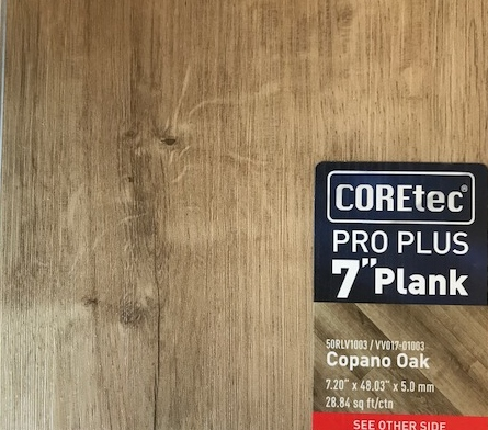 Coretec Pro Plus Capano Oak Apache Wood Products Inc